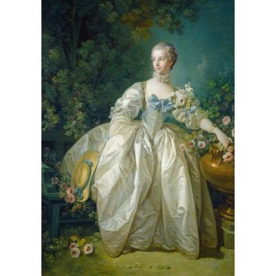 Puzzle  Grafika-01167 François Boucher: Madame Bergeret, 1766
