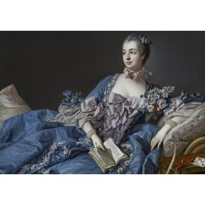 Puzzle  Grafika-01168 François Boucher: Madame de Pompadour, 1758
