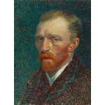 Puzzle  Grafika-01169 Vincent van Gogh: Selbstbildnis, 1887