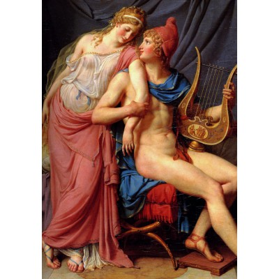 Puzzle  Grafika-01193 Jacques-Louis David: The Loves of Paris and Helen, 1788