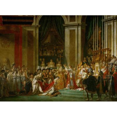 Puzzle Grafika-01195 Jacques-Louis David: Die Krönung Napoleons I, 1805-1807