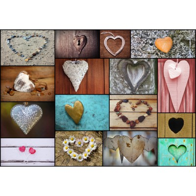 Puzzle  Grafika-01221 Collage - Love