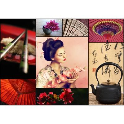 Puzzle Grafika-01224 Collage - Japan