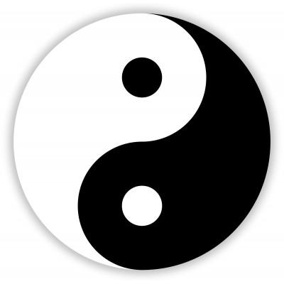 Puzzle  Grafika-01294 Yin und Yang