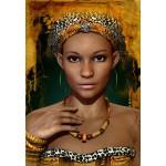 Puzzle  Grafika-01302 Afrikanische Frauen