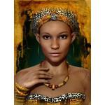 Puzzle  Grafika-01303 Afrikanische Frauen