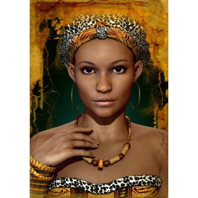 Puzzle Grafika-01304 Afrikanische Frauen