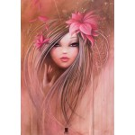 Puzzle  Grafika-01308 Misstigri: Sweet Pinky Girl