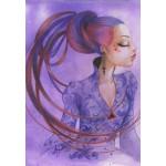 Puzzle  Grafika-01337 Misstigri: Violette