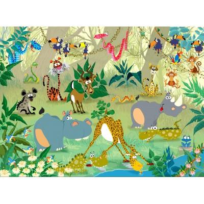 Puzzle  Grafika-01446 François Ruyer: Jungle