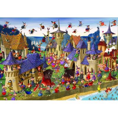 Puzzle  Grafika-01449 François Ruyer: Hexen
