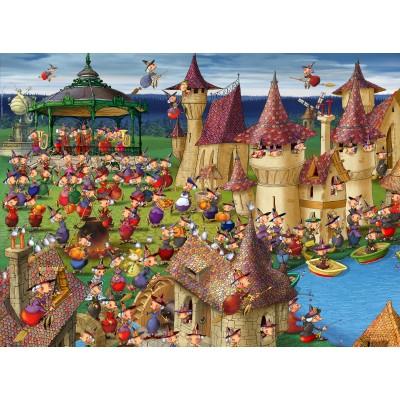Puzzle Grafika-01452 François Ruyer: Hexen