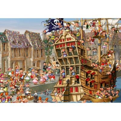 Puzzle  Grafika-01457 François Ruyer: Piraten
