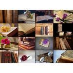 Puzzle  Grafika-01476 Collage - Bücher