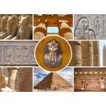 Puzzle  Grafika-01487 Collage - Ägypten