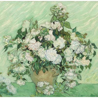 Puzzle  Grafika-01523 Vincent Van Gogh - Roses, 1890