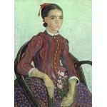 Puzzle  Grafika-01527 Vincent Van Gogh - La Mousmé, 1888