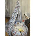 Puzzle  Grafika-01529 Claude Monet - Die Wiege, Camille mit dem Sohn des Künstlers Jean, 1867