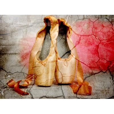 Puzzle  Grafika-01629 Vintage Dancing Shoes