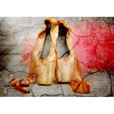 Puzzle  Grafika-01630 Vintage Dancing Shoes