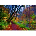 Puzzle  Grafika-01664 Herbstwald