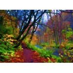 Puzzle  Grafika-01665 Herbstwald
