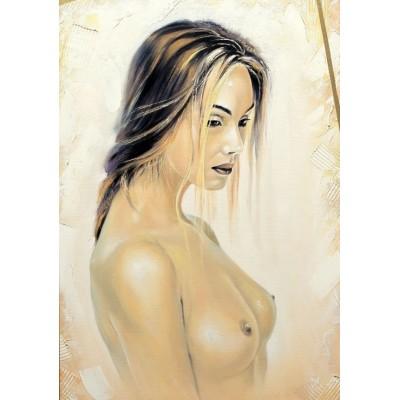 Puzzle Grafika-01671 Schöne nackte Frau