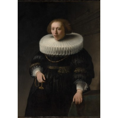 Puzzle  Grafika-01728 Rembrandt - Porträt, 1632
