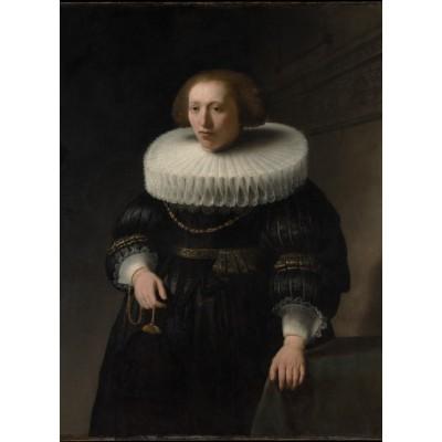 Puzzle  Grafika-01729 Rembrandt - Porträt, 1632