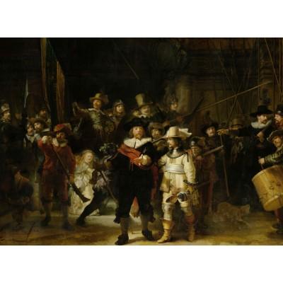 Puzzle Grafika-01731 Rembrandt - Die Nachtwache, 1642