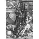 Puzzle  Grafika-01741 Albrecht Dürer - Melancholia, 1514