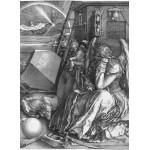 Puzzle  Grafika-01742 Albrecht Dürer - Melancholia, 1514
