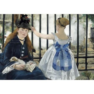 Puzzle  Grafika-01743 Edouard Manet : The Railway, 1873