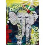 Puzzle  Grafika-01752 Thailändisches Elefantenbaby