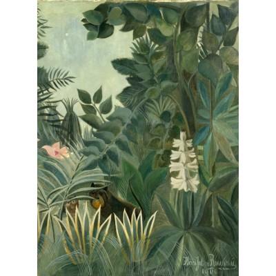 Puzzle  Grafika-01758 Henri Rousseau: The Equatorial Jungle, 1909