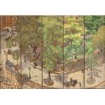 Puzzle  Grafika-01787 Edouard Vuillard : Square Vintimille, 1911