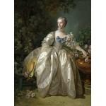 Puzzle  Grafika-01789 François Boucher: Madame Bergeret, 1766