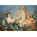 Puzzle  Grafika-01794 François Boucher: Allegory of Painting, 1765