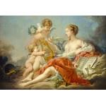 Puzzle  Grafika-01797 François Boucher: Allegory of Music, 1764