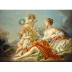 Puzzle  Grafika-01798 François Boucher: Allegory of Music, 1764