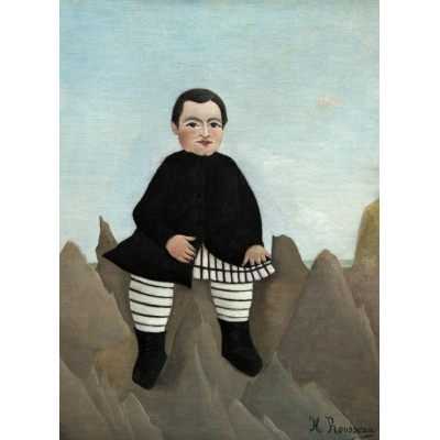Puzzle  Grafika-01800 Henri Rousseau : Boy on the Rocks, 1895/1897