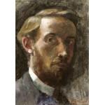 Puzzle  Grafika-01807 Edouard Vuillard: Self-Portrait, Aged 21, 1889