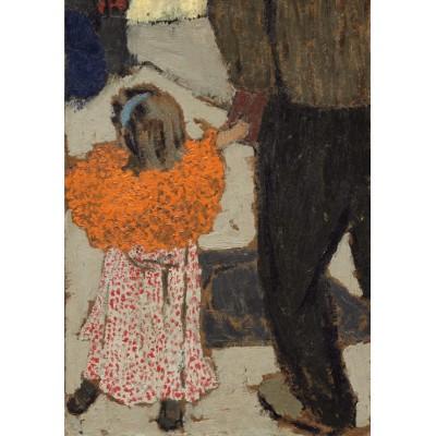 Puzzle  Grafika-01810 Edouard Vuillard: Child Wearing a Red Scarf, 1891