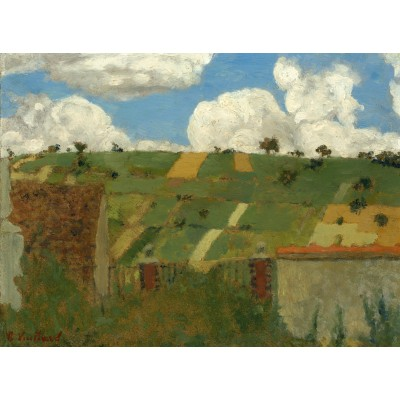 Puzzle  Grafika-01812 Edouard Vuillard: Landscape of the Ile-de-France, 1894