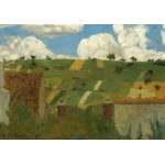 Puzzle  Grafika-01813 Edouard Vuillard: Landscape of the Ile-de-France, 1894