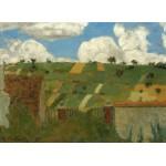 Puzzle  Grafika-01814 Edouard Vuillard: Landscape of the Ile-de-France, 1894