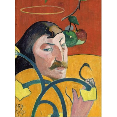 Puzzle  Grafika-01821 Paul Gauguin: Self-Portrait, 1889