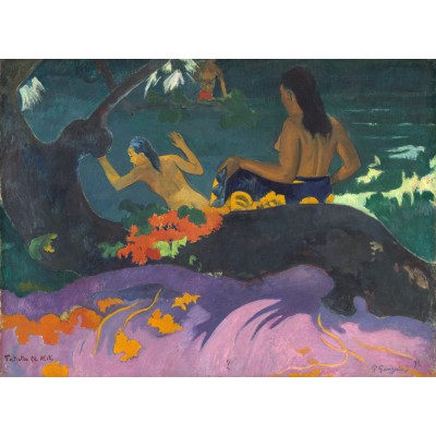 Puzzle  Grafika-01826 Paul Gauguin: Fatata te Miti (By the Sea), 1892