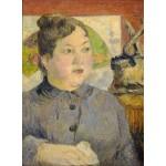 Puzzle  Grafika-01844 Paul Gauguin: Madame Alexandre Kohler, 1887-1888