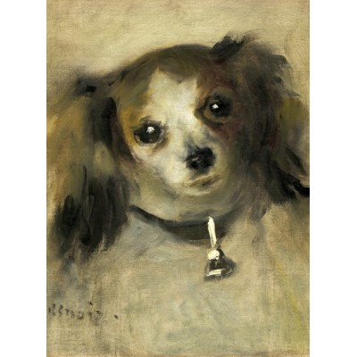 Puzzle  Grafika-01864 Auguste Renoir: Head of a Dog, 1870